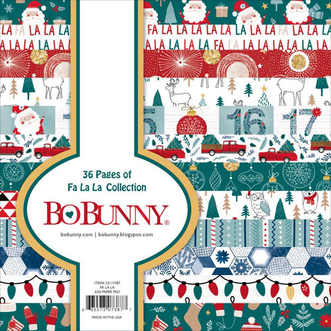 "BoBunny Single-Sided Paper Pad 6""x6"" 36/Pkg"