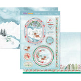 Hunkydory The Magic Of Christmas Luxury A4 Topper Set - Delightful Deer