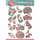 Find It Trading Yvonne Creations Punchout Sheet - Flowers, Flowers With A Twist