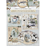 Studio Light Die-Cut Card Toppers A4 12/Pkg - Winter Feelings
