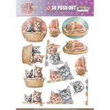 Find It Trading Amy Design Punchout Sheet - Kittens, Cat's World