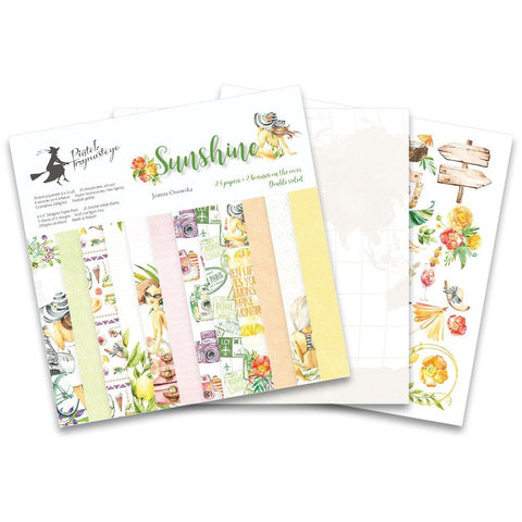 "P13 Double-Sided Paper Pad 6""X6"" 24/Pkg - Sunshine"