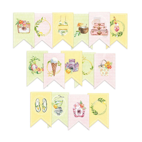P13 Sunshine Double-Sided Cardstock Die-Cuts