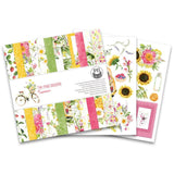 "P13 Double-Sided Paper Pad 6""X6"" 24/Pkg - Summer"