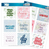 Find It Trading Jeanine's Art Text Designs - The Colours Of Winter