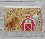 "Doodlebug Double-Sided Paper Pad 6""X6"" 24/Pkg - Down on the Farm"