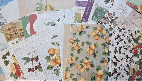 Nature's Bounty Card Making Kit (34 sheets)