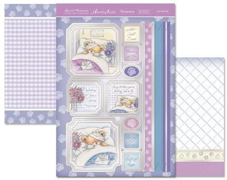 Hunkydory Luxury Topper Set - Get Well Ted