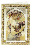 3D Die Cut Sheet - Alphonso Mucha Flowers & Fruits (2 sheets)