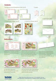 3D Summer Vintage Flower Cardmaking Kit 2