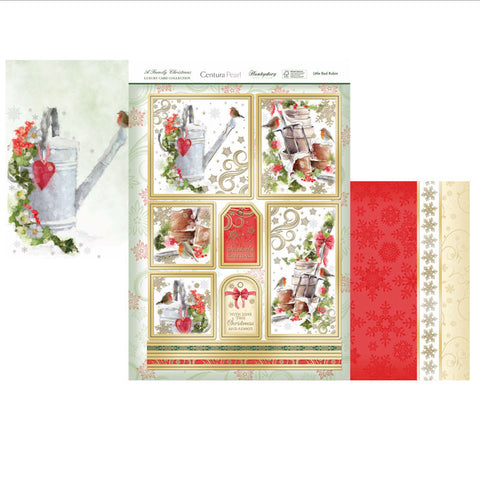 Hunkydory Luxury Topper Collection - Little Red Robin