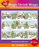 Magic Shrink Wraps -  Winter Village (⌀ 10 cm)