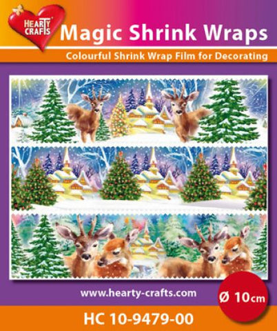 Magic Shrink Wraps - Winter (⌀ 10 cm)