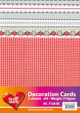 3D Decoration Double Card Kit 1- by Hearty Crafts