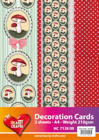 3D Decoration Double Card Kit 2- by Hearty Crafts