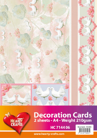 3D Decoration Card Kit 8- by Hearty Crafts