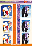 Christmas Penguins 3D Die-Cut Value Pack 1