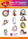Easy 3D Die-Cut Toppers - Clocks