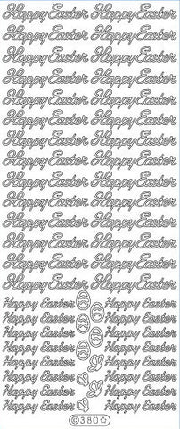 Deco Sticker - Happy Easter - Gold