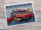 Easy 3D Die-Cut Toppers - Vintage Cars
