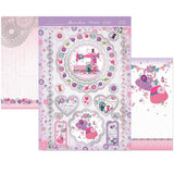 Hunkydory Luxury Topper Collection - Faberdashery I Love You Sew Much