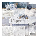 "Studio Light Paper Pad 6""x6"" 36 sheets - Snowy Afternoon"