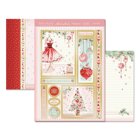 Hunkydory Luxury Topper Collection - Heartfelt Season - Festive Wishes