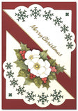 Doodey Deco Sticker - Merry Christmas - Silver & Gold