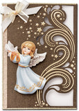 Easy 3D Die-Cut Toppers - Angels 2