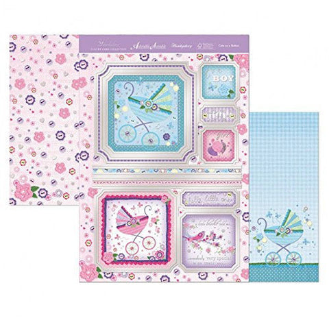 Hunkydory Luxury Topper Collection - Faberdashery Cute as a Button