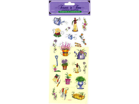 Window Card & Sticker Kit - In the Garden