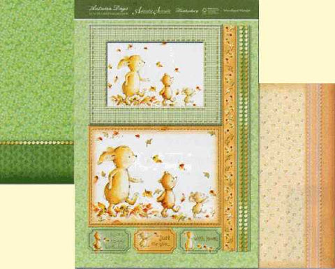 Hunkydory Luxury Topper Collection - Autumn Days - Woodland Wander