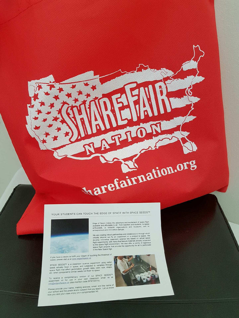 Edge of Space Partners with Share Fair Nation in Denver