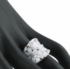 Women Round Crystal Ring
