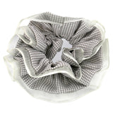 Hair Accessories Hair Ties Grey Lace Layer Scrunchies