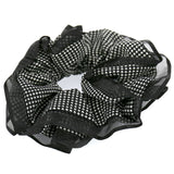 Hair Accessories Hair Ties Black Lace Layer Scrunchies