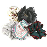 Set of 5 Women Hair Accessories Girls Elastic Scrunchies