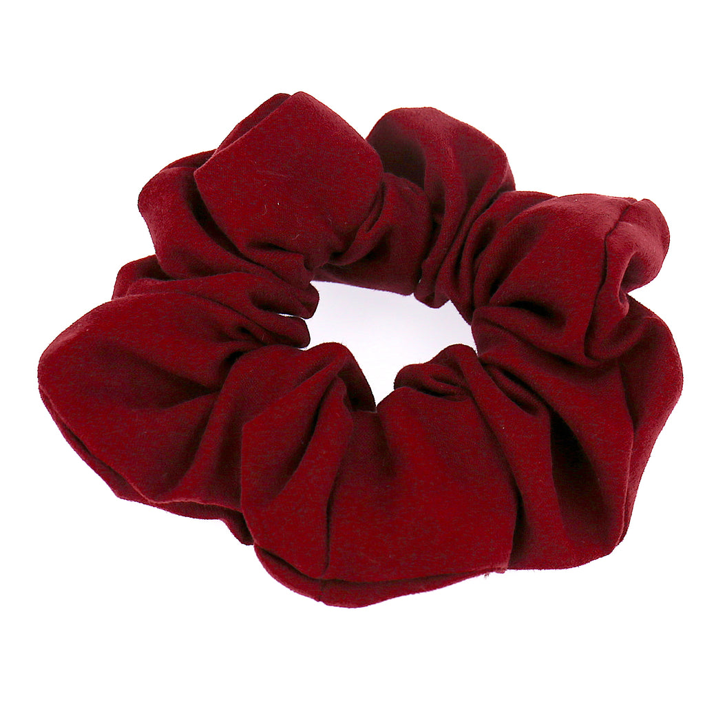 Women Hair Accessories Red Velvet Elastic Scrunchies