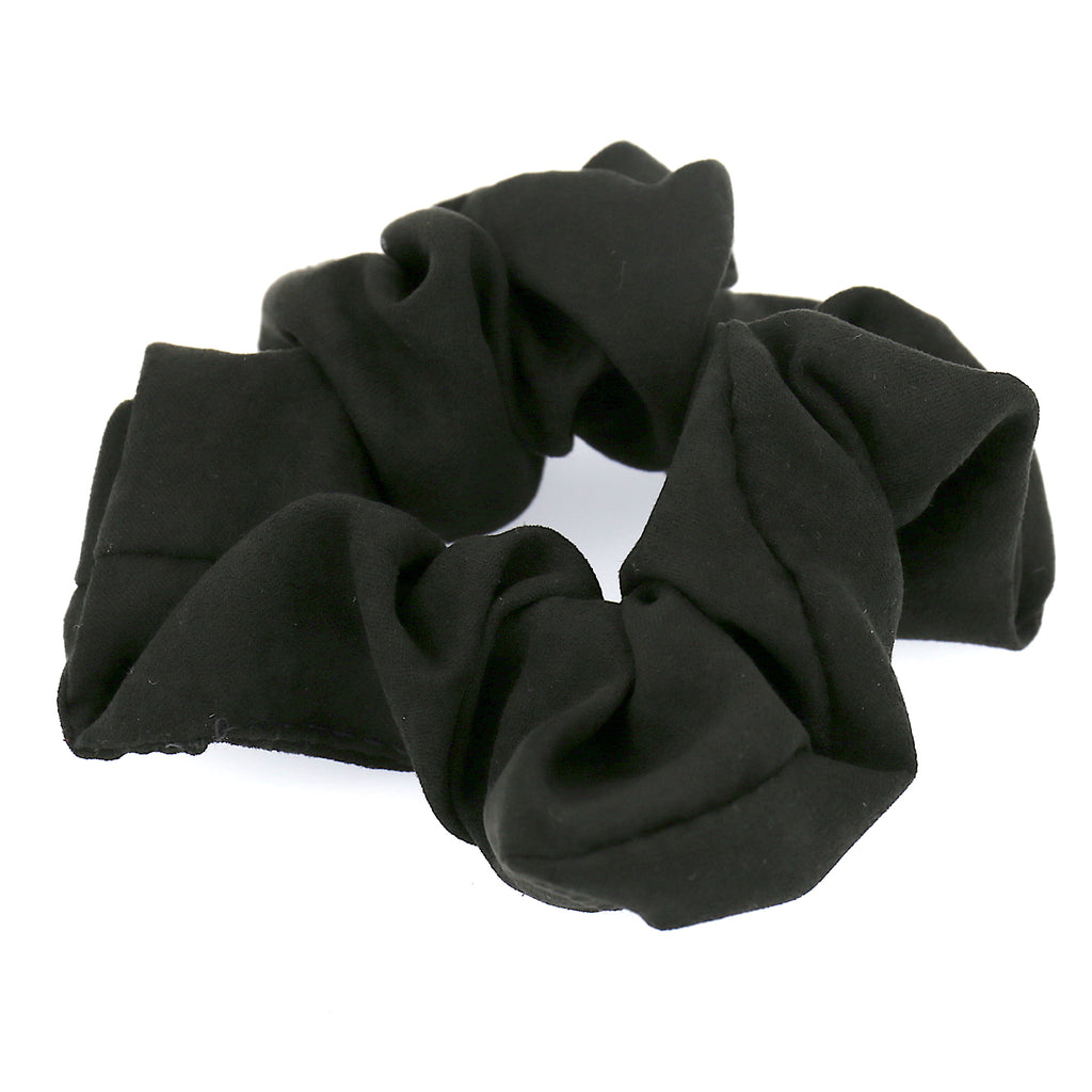 Women Hair Accessories Black Velvet Elastic Scrunchies