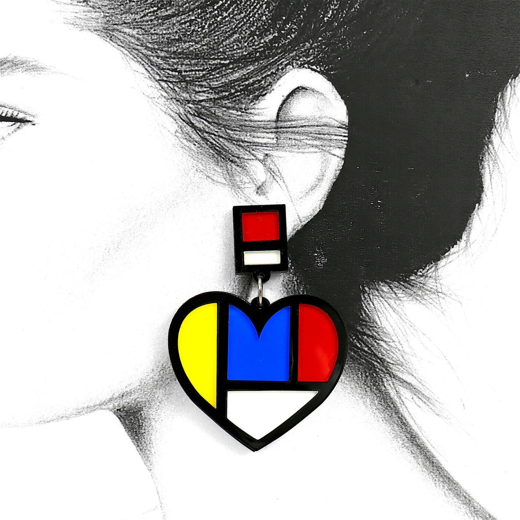 Heart Stunning Fashion Chic Stud Earrings