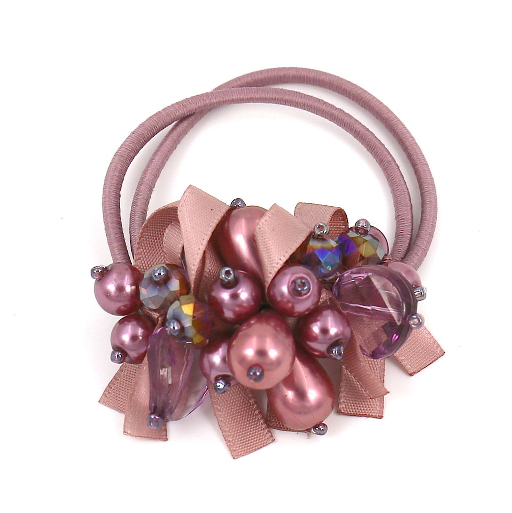Hair Accessories Scrunchie Adjustable Colourful Beaded Pattern