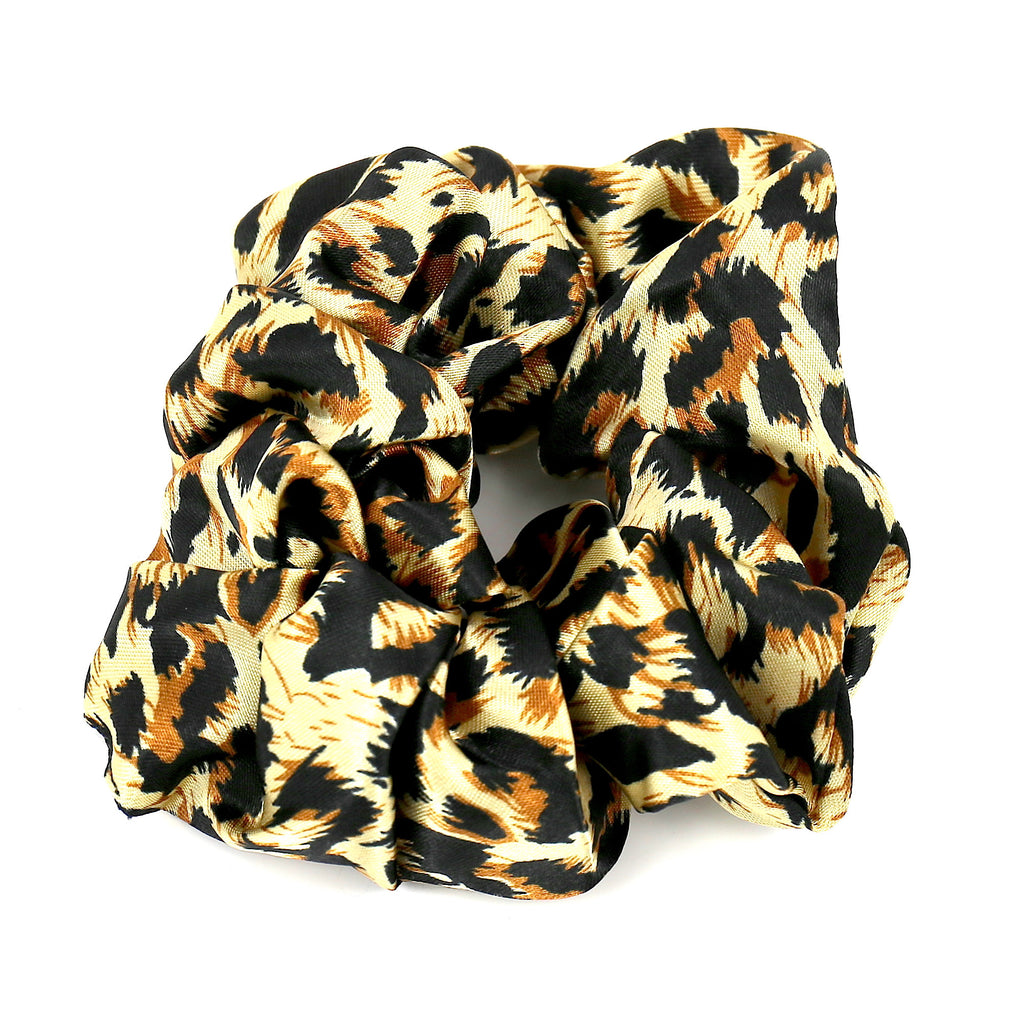 Hair Accessories Scrunchie Adjustable Colourful Chic Leopard Pattern