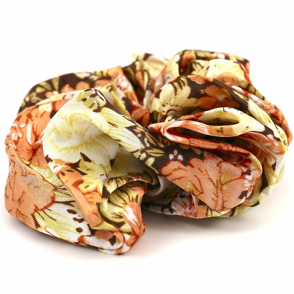 Hair Accessories Scrunchie Adjustable Colourful Chic Flower Pattern