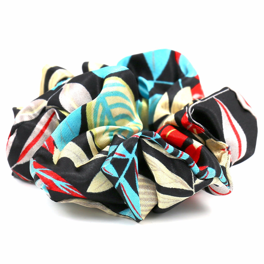 Hair Accessories Scrunchie Adjustable Colourful Chic Pattern