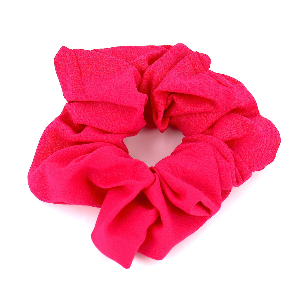 Hair Accessories Scrunchie Adjustable Deep Pink Lovely Pattern