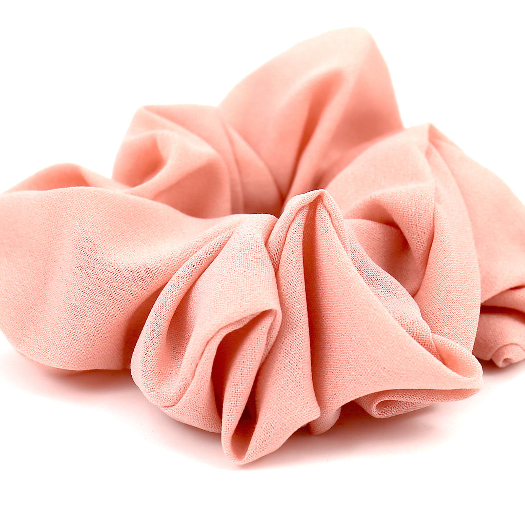 Hair Accessories Scrunchie Adjustable Peach Lovely Pattern