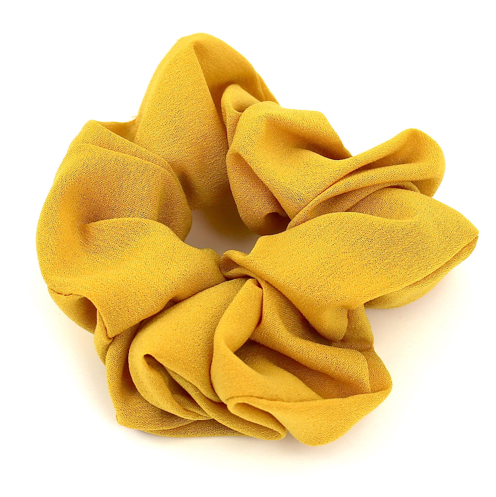Hair Accessories Scrunchie Adjustable Yellow Lovely Pattern