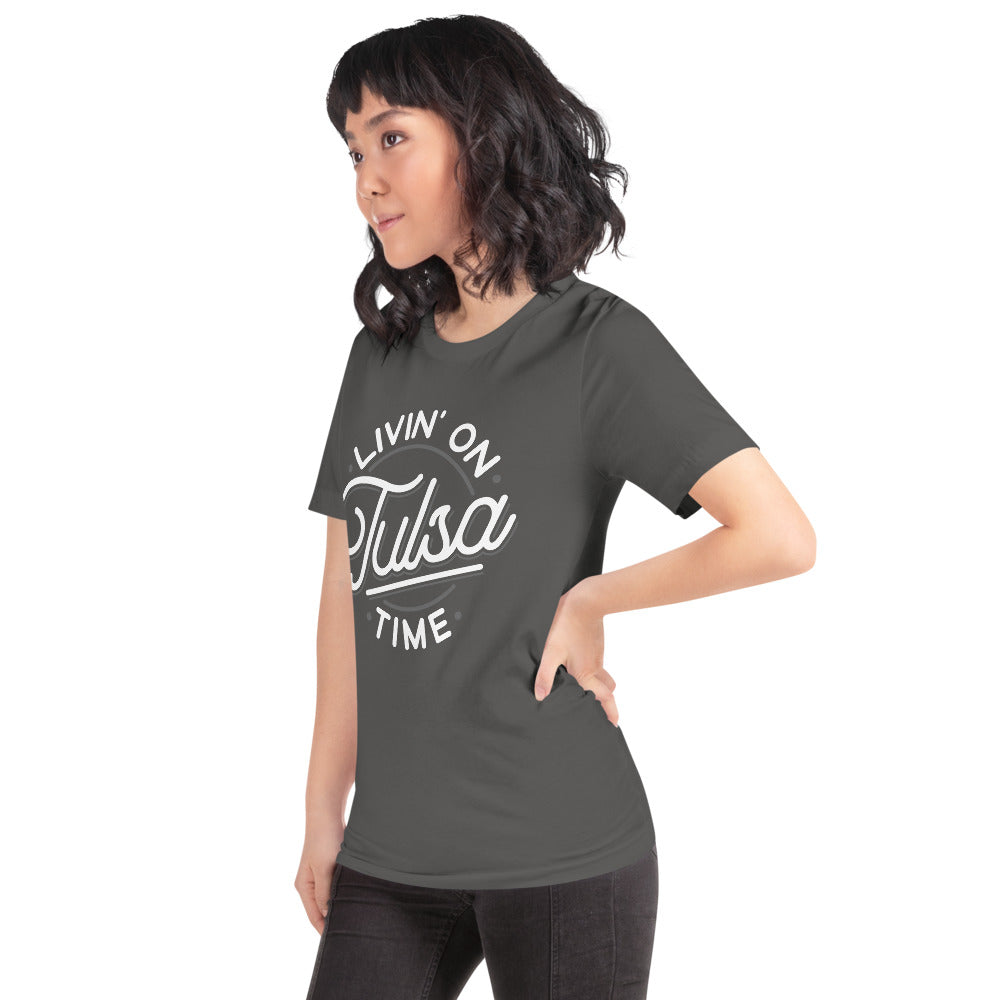 Livin' on Tulsa Time Unisex Tee - Vintage Phoenix Marketplace