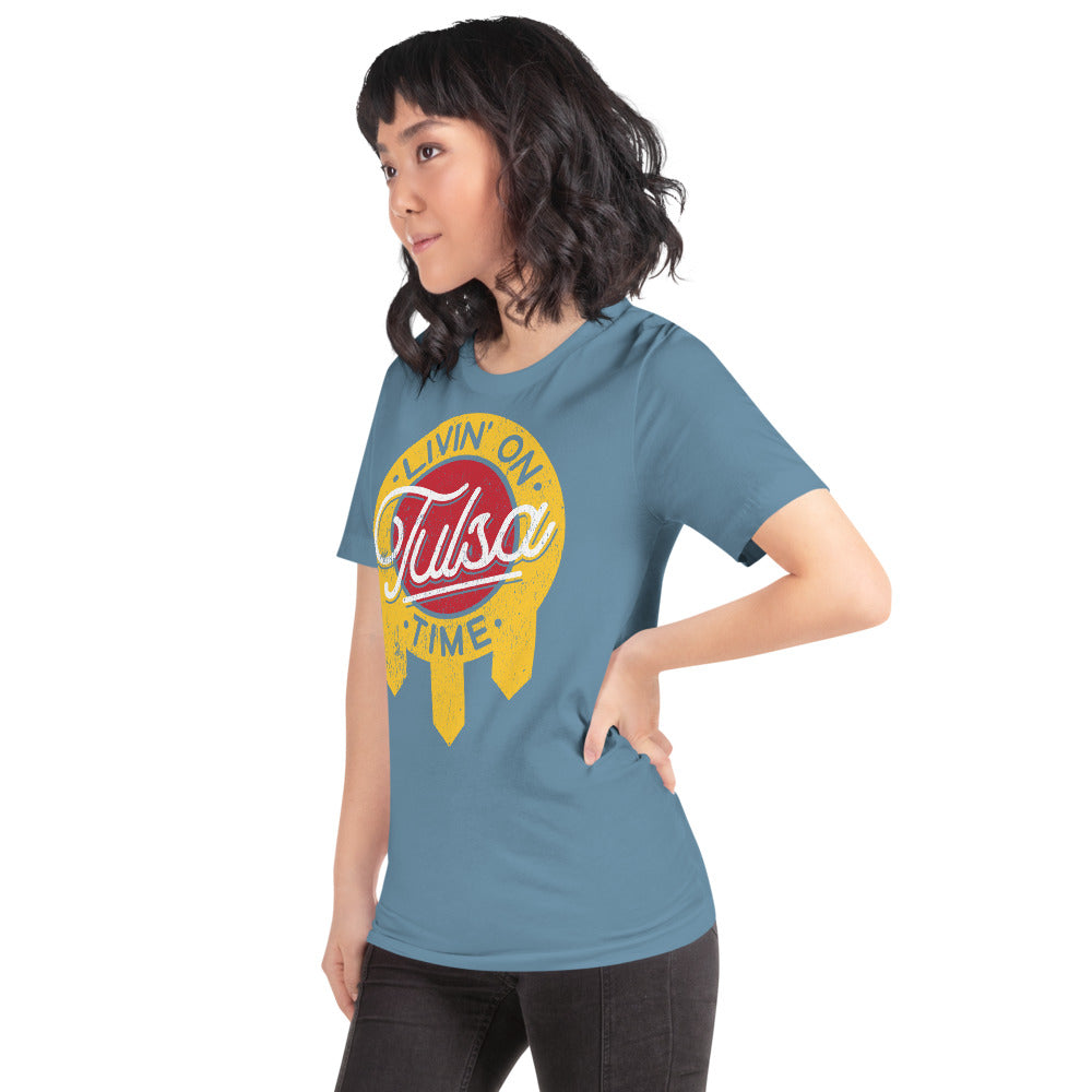 Tulsa Flag - Tulsa Time T-Shirt - Vintage Phoenix Marketplace