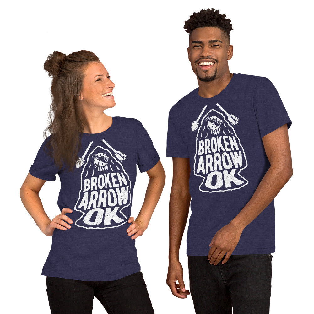 Broken Arrow T-shirt - White, TShirts, - The Vintage Phoenix Marketplace